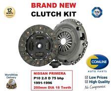 para NISSAN PRIMERA P10 2.0 D 75BHP 1991-1996 Kit de embrague 200mm diámetro 18