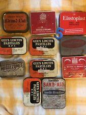 More details for joblot of 11 1940s+ advertising tins british european airways regesan gees...