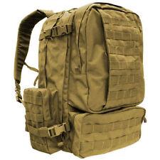 Condor - Tactical 3 Day Assault Backpack - Tan - Molle II Webbing #125