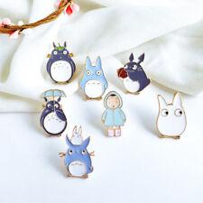1PC Cute Cartoon Animal Totoro Alloy Oil Drop Brooch Pins Badge Jewelry Gift