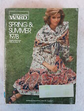 MONTGOMERY WARD 1978 Spring/Summer CATALOG  1,200 pages of those 70s Styles!