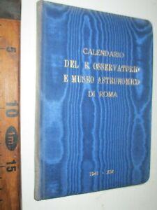 1941 OSSERVATORIO E MUSEO ASTRONOMICO DI ROMA ASTRONOMIA ZANICHELLI BOLOGNAsc196