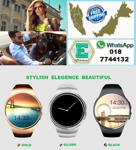 SMART WATCH WATERPROOF HEART RATE MONITOR PEDOMETER FOR ANDRIOD/IOS SPORTY LOOK
