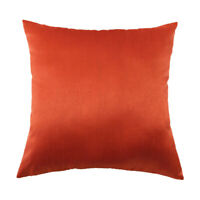 Housse de coussin de décoration de café en coton Orange-Like Throw