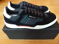 Paul Smith Trainers JACK Navy Calf Leather / Mix Material SIZE 9 : NEW & BOXED