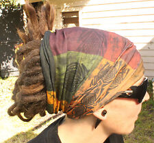 Earthy Dreadlock Headband/dread sock/wrap - Lightweight, soft, comfortable