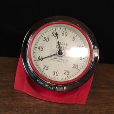 Vintage Kodak Timer Clock Eastman Rochester NY 8239 Art Deco Photography Decor