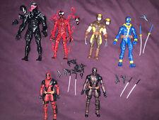 marvel legends lot deadpool venom