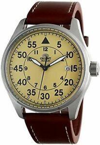 Men's Orient Flight Pilot Style Automatic Steel Watch RA-AC0H04Y10B