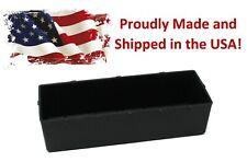 Plastic Black Parts Storage Bins Peg Tool Board Workbench Pegboard Not Included