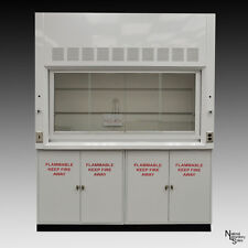 6' NEW Laboratory Chemical Fume Hood & Flammable Cabinets lab Ind  QUICK SHIP