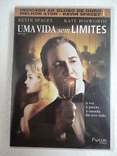 DVD Uma vida Sem Limites,kevin Space & Kate Bosworth 2004