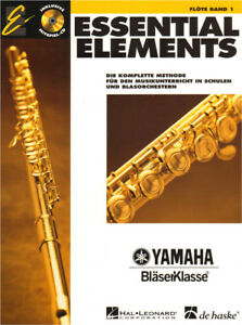 Essential Elements Bläserklasse Flöte Querflöte Band 1 Noten mit CD