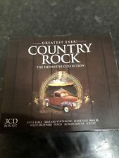 Various Artists - Greatest Ever Country Rock - Various Artists 3 Cd Set