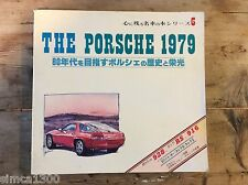 PORSCHE 1979 928 916 911 carrera rs turbo roadster japonais superbe illustrations