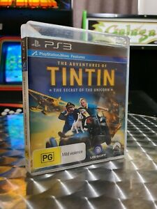 The Adventures Of TINTIN: The Secret Of The Unicorn - Playstation 3 PS3 Game