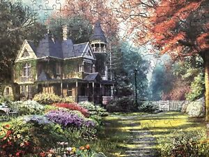 "Wentworth Wooden Jigsaw  - ""Victorian Garden"" (Trick or Treat) - 250 Pieces Comp"