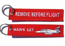 RAAF HAWK 127 Remove Before Flight Key Ring Luggage Tag