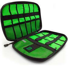 Negro Bolsa Organizador Cables Estuche de Viaje para Accesorios Electrónicos