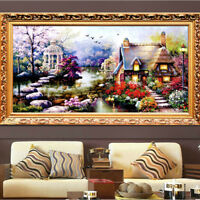 5D DIY Full drill Diamond Painting Embroidery Landscape Stitch Kits in Home Deco