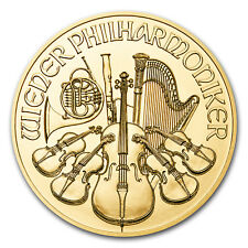 2017 1 oz Gold Austrian Philharmonic Coin .9999 Fine BU