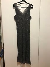 Laura K beaded/sequin dress with jacket