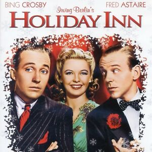 Holiday Inn 1942 musical movie mint DVD Bing Crosby White Christmas Fred Astaire