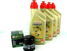 Aceite para Motos 10W40 4liter Castrol Power1 + Filtro de HIFLO HF303 OC575