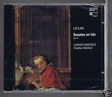 LECLAIR CD NEW SONATES EN TRIO LONDON BAROQUE IRMGARD SCHALLER