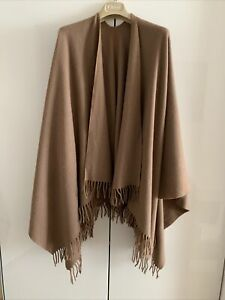 Cape/ Umhang Lambswool 100% Wolle One Sitze