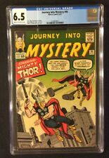 Journey Into Mystery #95 Comic Cgc 6.5 Marvel 1963 Silver Age Mighty Thor Kirby