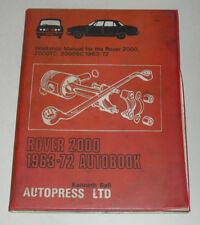 Reparaturanleitung Rover 2000 TC / SC Typ P6, Baujahre 1963 - 1972
