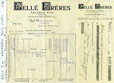 Paris I er 6 Avenue de l'Opéra - Petite Entête d'une Parfumerie du 01/05/1931
