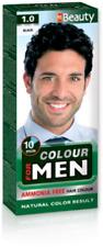 MM Beauty Hair Dye for Men 5 Colors Black, Blond, Dark Light & natural Brown