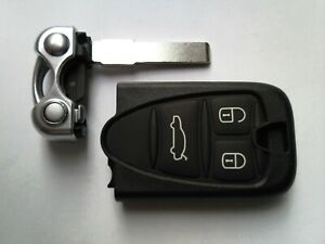 ALFA ROMEO 159 BRERA GT SPIDER ETC (NEW) 3BUTTON REMOTE ALARM FOB CASE+UNCUT KEY