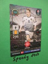 Road to UEFA Euro 2016 Limited Edition christian Eriksen Adrenalyn Panini