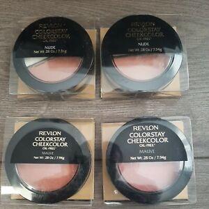 SET OF 2-REVLON Colorstay Cheekcolor Oil Free Full Size NIB Choose Shade