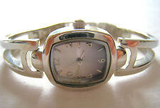 Ladies Watch Gray Analog Dial Silver Tone Bracelet Watch • NWOT! • $30
