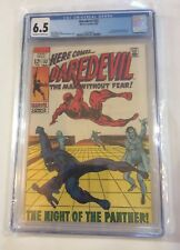 Daredevil # 52, 5/69, CGC 6.5, Black Panther T'Challa appears, Barry Smith art