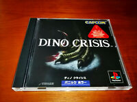 DINO CRISIS  SONY PLAYSTATION PSX PS2 Jap PS1,PS2 SPINE CARD + REG CARD