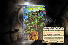 TMNT Teenage Mutant Ninja Turtles #58 Rooftop Exclusive Variant - SIGNED + COA