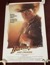 """Indiana Jones And The Last Crusade� Advanced 1 Sheet - Rolled!"