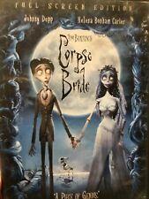 Tim Burtons Corpse Bride (Dvd, 2006, Full Frame) *Free Shipping* Halloween