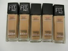 5 Maybelline Fit Me Foundation Dewy+Smooth - #125 - Exp: 5/20+ Jk 3606