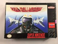 U.N. Squadron (Super Nintendo, 1991) USED, W/ Box and Cartridge