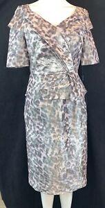 BNWT Ispirato IP800 Dress.Chinchilla Colour Mother of the Bride/Groom. Size 10