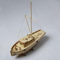 Wooden  Model DIY Kits Educational Ship Toy Home Decor