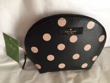 "KATE SPADE New York '""Keri"" Wellesley Printed Blk/dcobge Cosmetic Pouch"