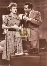 older postcard I LOVE LUCY TAKE THE MONEY desi tv 136-405 into a 5x7 picture