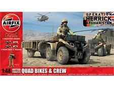 Airfix A04701 British Forces Quad Bikes & Crew 1/48 Plastic Kit Free T48 Post